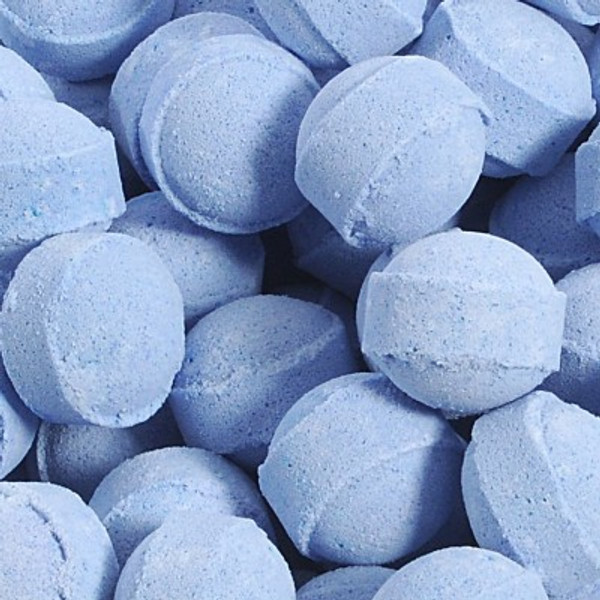 Blueberry Mini Bath Bombs