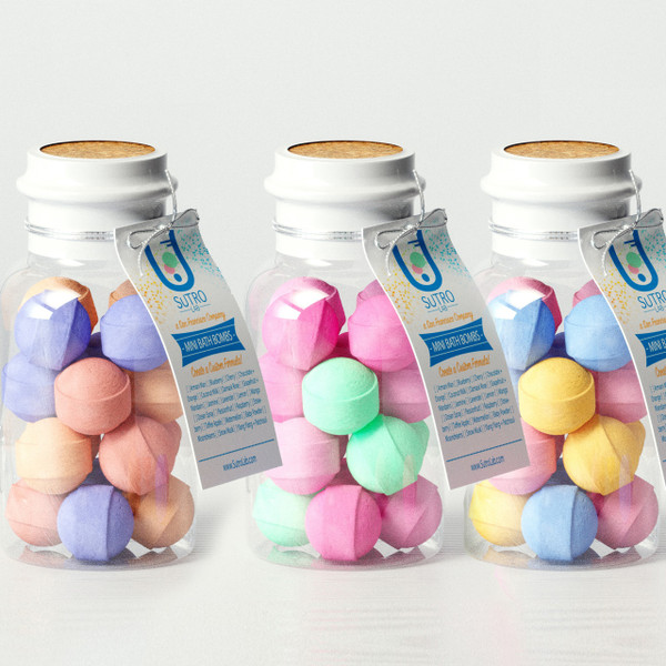 Mini Bath Bombs x98 Bottles [Private Label]