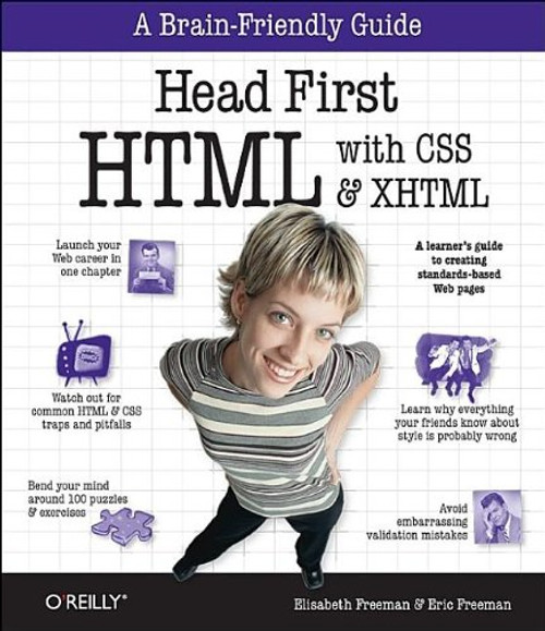 Head First Html With CSS & XHTML by Eric Freeman