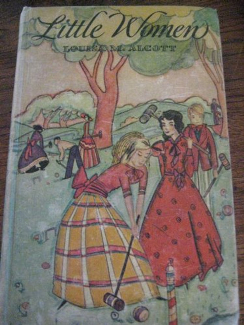 "Little Women ""Authorized Edition"" Blue Ribbon Books Rainbow Series 1915"