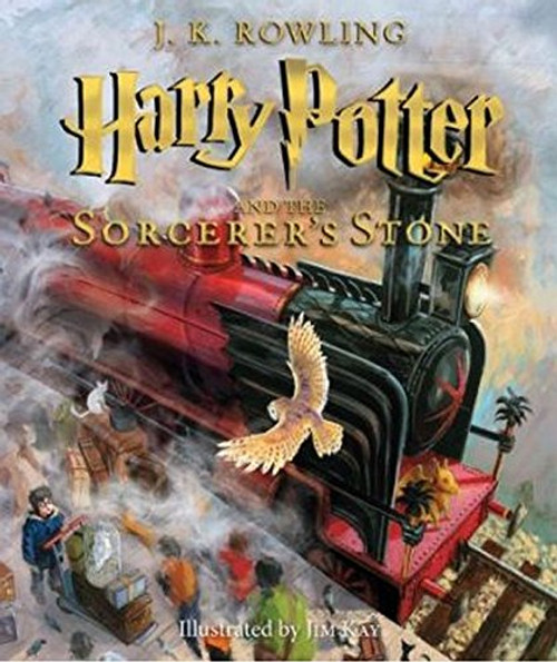 Harry Potter and the Sorcerer's Stone: The Illustrated Edition (Harry Potter, Book 1