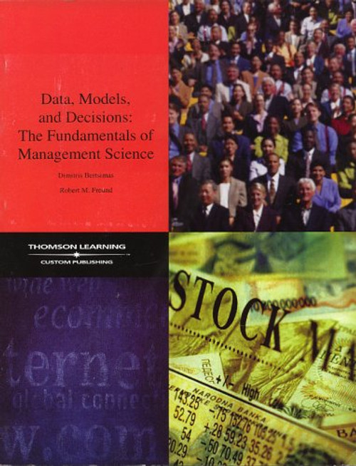 Data, Models, and Decisions: The Fundamentals of Management Science (Book & CD)
