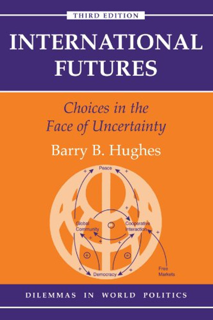 Author: Barry B Hughes  Edition: 3  ISBN: 0813368413  Number Of Pages: 244  Publisher: Westview Press  Details: Fully updated and including an expanded and extensive Windows computer simulation, this unique text/disk combination provides a survey of alternative futures in international relations. By manipulating a wide range of variables in major countries and geographical regions students can generate a limitless number of future scenarios in the areas of demographics, food, energy, the environment, economics, and sociopolitical systems. This edition has added capability for display of data and forecasts, has introduced extensive historical data and analysis capability, has extended the time horizon of forecasts, and has extensively expanded the Help system of the model. Complete with tables, flowcharts, feedback loops, computer notes, and research suggestions, the text and simulation allows students to transcend the usual level of speculation about the future by moving to an empirically grounded, values-based consideration of issues, strategies, and outcomes. This edition places a special emphasis on the environemnt, which has emerged as one of the most important areas in international relations.  EAN: 9780813368412