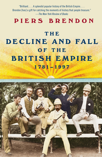 Author: Piers Brendon  Brand: Vintage Books USA  Edition: Reprint  Features:      Vintage Books USA  Number Of Pages: 848  Publisher: Vintage  Release Date: 09-02-2010  Details: A WASHINGTON POST BOOK WORLD NOTABLE BOOK  After the American Revolution, the British Empire appeared to be doomed. Yet it grew to become the greatest, most diverse empire the world had seen. Then, within a generation, the mighty structure collapsed, a rapid demise that left an array of dependencies and a contested legacy: at best a sporting spirit, a legal code and a near-universal language; at worst, failed states and internecine strife. The Decline and Fall of the British Empire covers a vast canvas, which Brendon fills with vivid particulars, from brief lives to telling anecdotes to comic episodes to symbolic moments.  EAN: 9780307388414