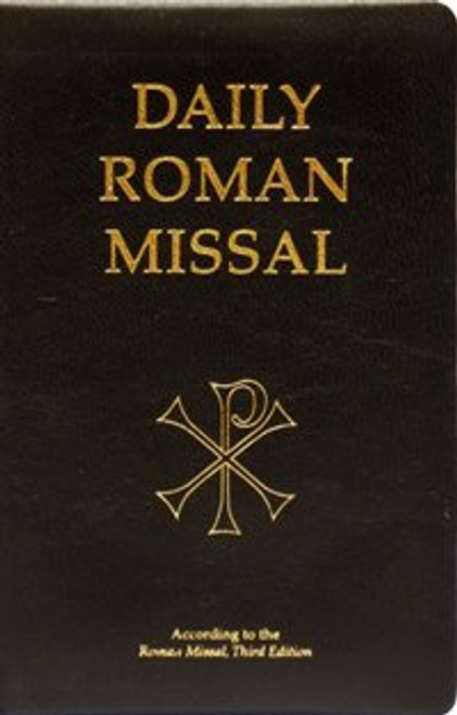 Daily Roman Missal Bonded Black Leather 7th Edition