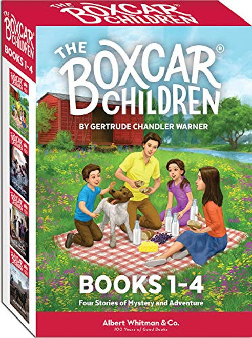 The Boxcar Children Books 1-4  Gertrude Chandler Warner
