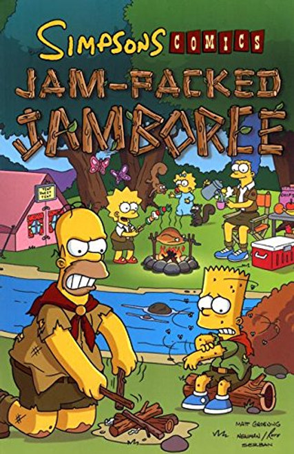 Simpsons Comics Jam-Packed Jamboree (Simpsons Comic Compilations)