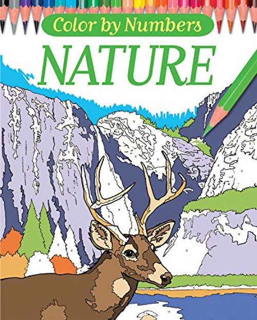 Color By Numbers - Nature Chartwell Coloring Books Paperback