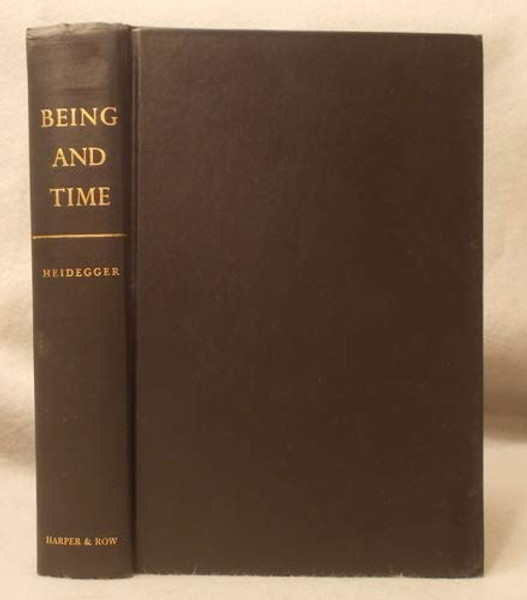 Being and Time Revised by Martin Heidegger (1962) Hardcover
