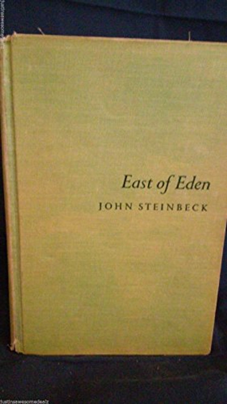 East of Eden by John Steinbeck 1st edition and 1st printing w/error