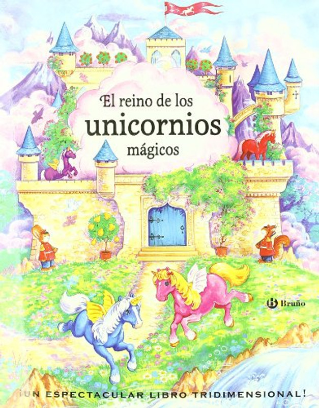 El reino de los unicornios magicos (Pop-up) (Spanish Edition)
