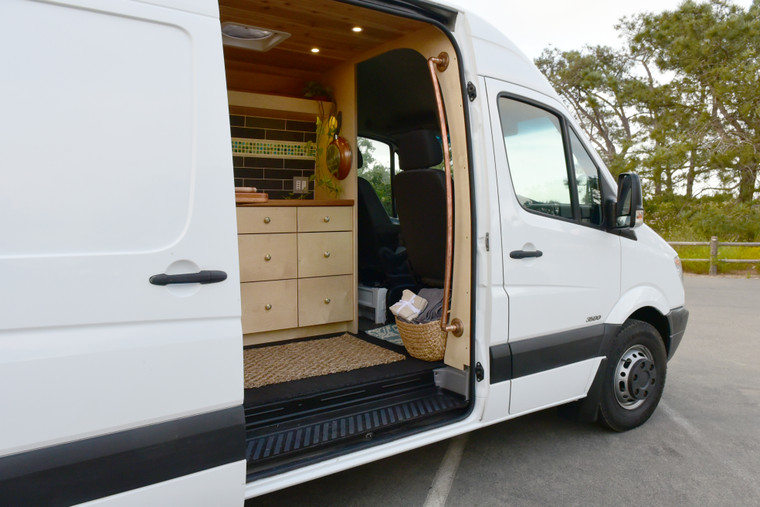 Introducing the Rogue One. The Rogue One can be built on either the 144 or 170 wheel base Sprinter vans.
