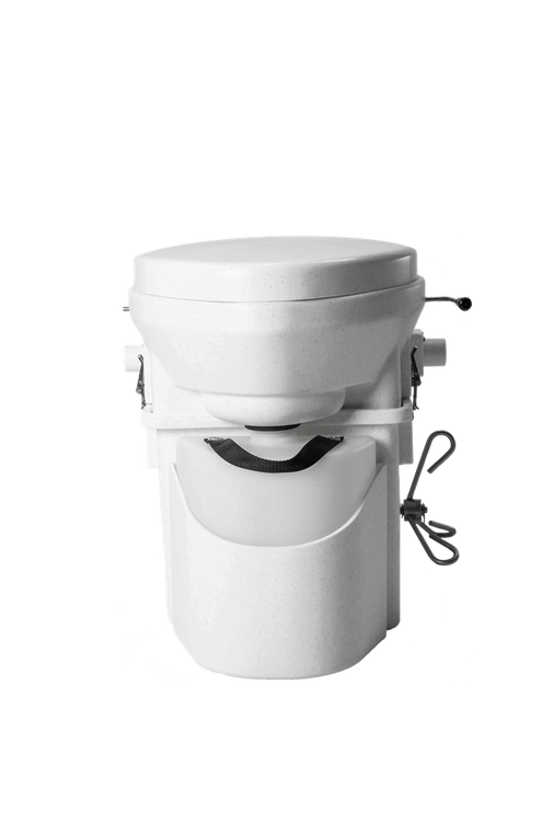 Nature's Head Composting Toilet with FOOT Spider Handle