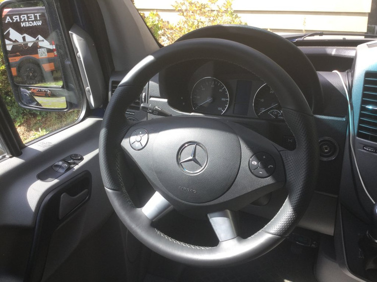 Leather Wrapped Steering Wheel (2007-2018)