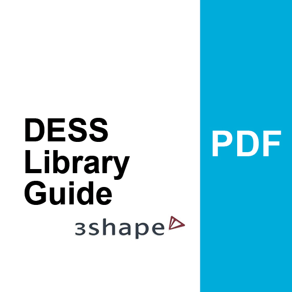 DESS Library Guide for 3Shape