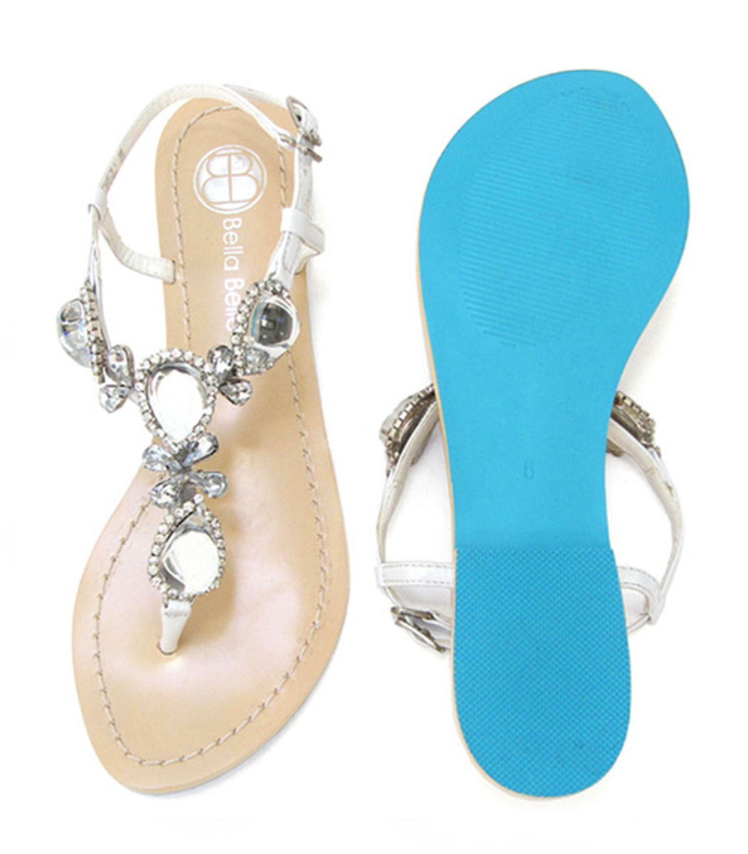 d09fdb823052 Your cart.  0.00. Check out Edit cart · Home   Accessories   Shoes   Bella  Belle Jewel Wedding Sandals