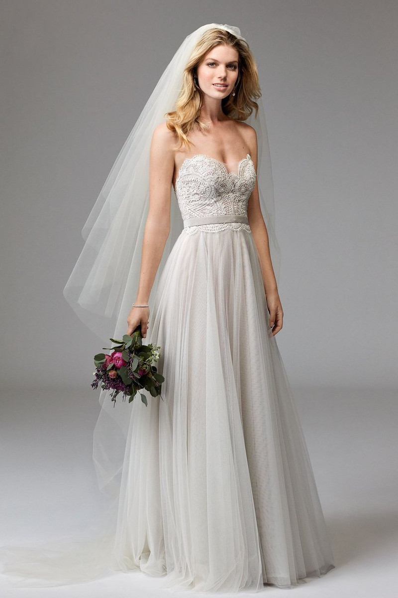 f8c91cd2e19 Wtoo Wedding Dress Della (beaded) Style 17711B