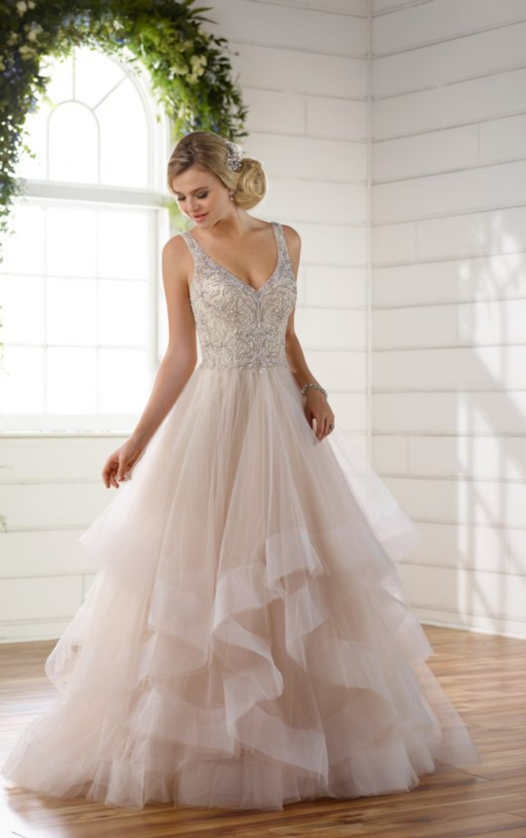e0382a91e Essense of Australia Wedding Dress Style D2259