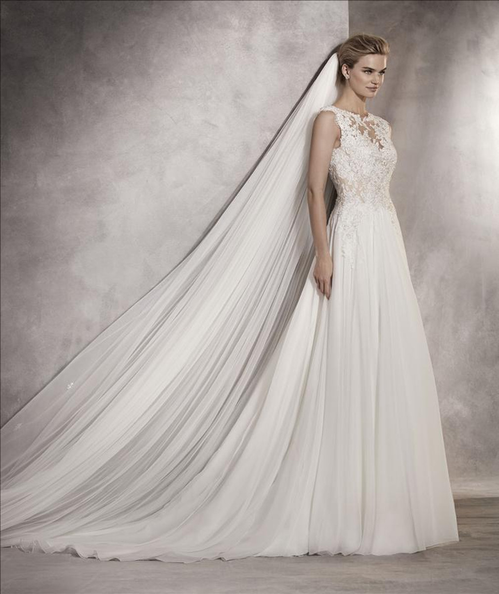 4042cb14c6e Pronovias Wedding Dress Atlantis