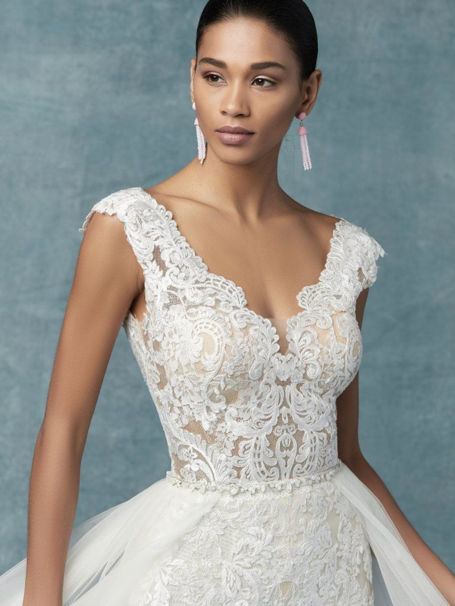 387b67fa758e Your cart.  0.00. Check out Edit cart · Home   Bride   Maggie Sottero  Wedding Dress Milan Overskirt