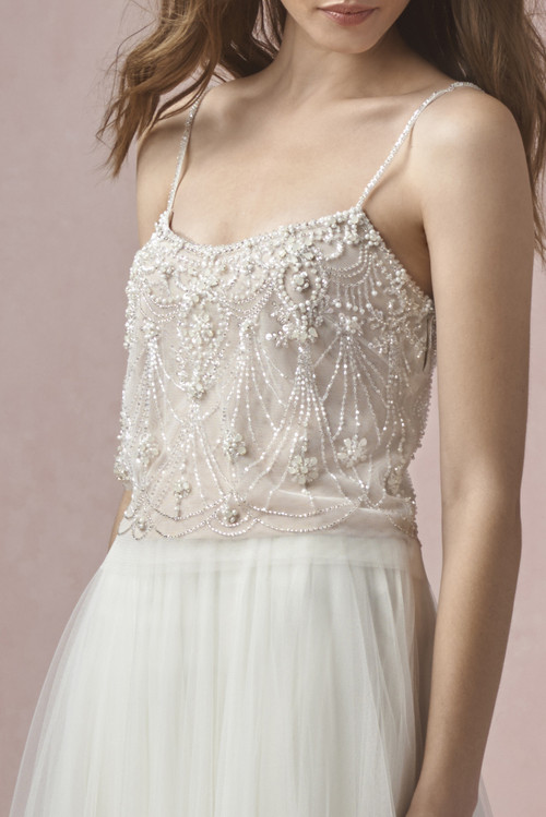 Love Marley Wedding Dress Pearl Tank (Lined) (55620M)