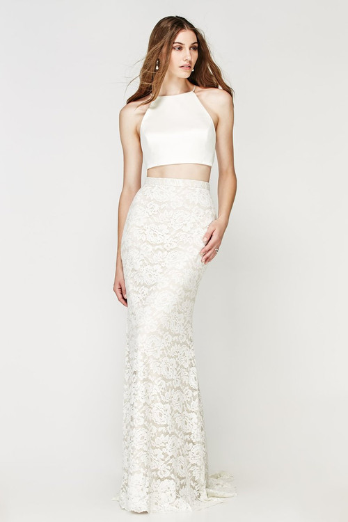 Willowby Wedding Moravia Crop Top