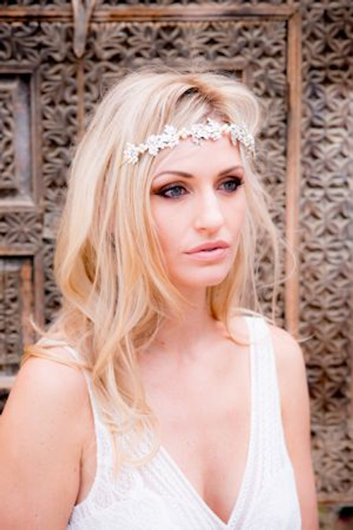 Justine M. Couture Olive Headband