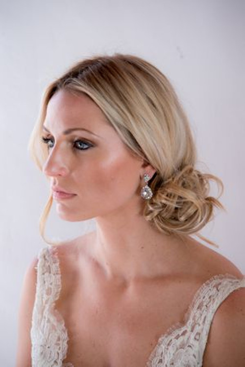 Justine M. Couture Diana Earrings