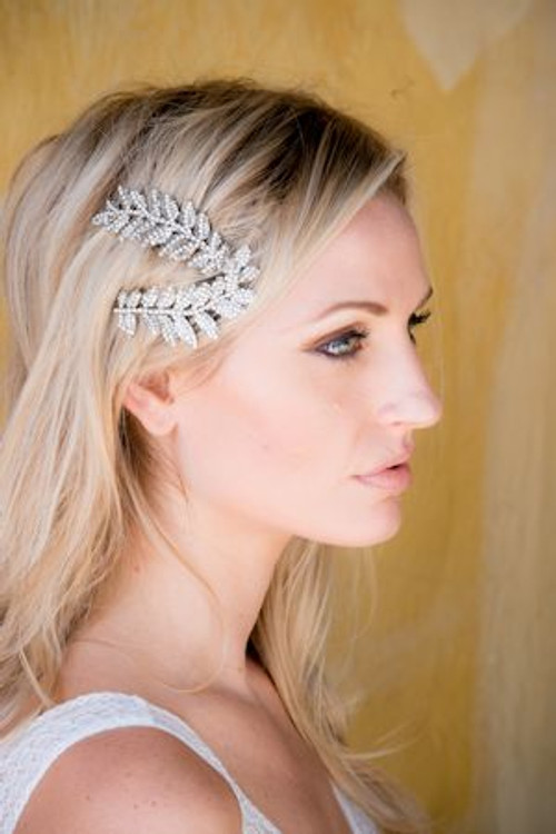 Justine M Couture Autumn Headpiece (set of 2)