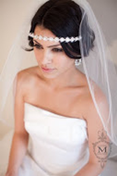Justine M Couture Adelaide Veil