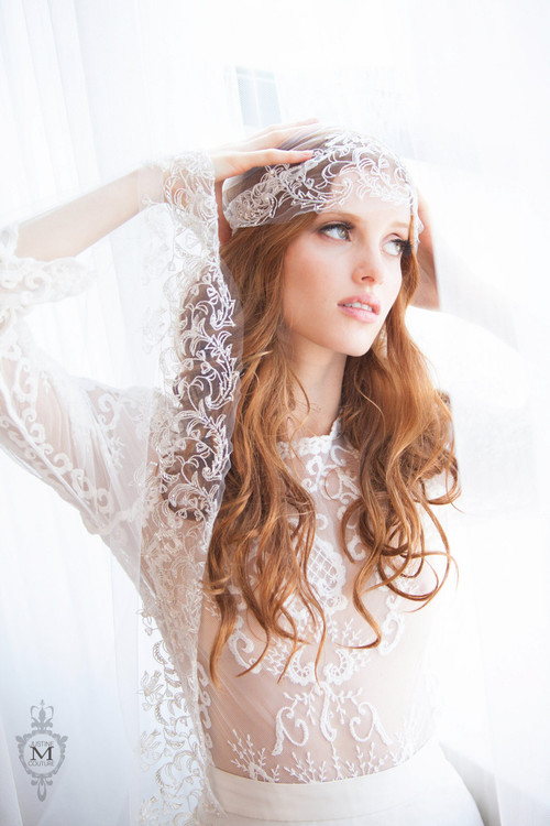 Justine M Couture Byzantine Veil