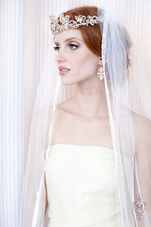 Justine M Couture Poppy Veil