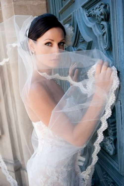 Justine M Couture Pearl Veil