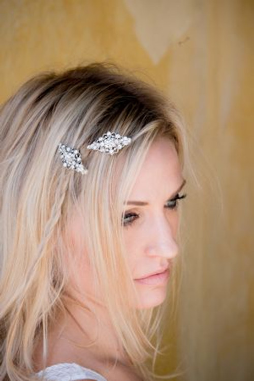 Justine M Couture Vera Headpiece Combs