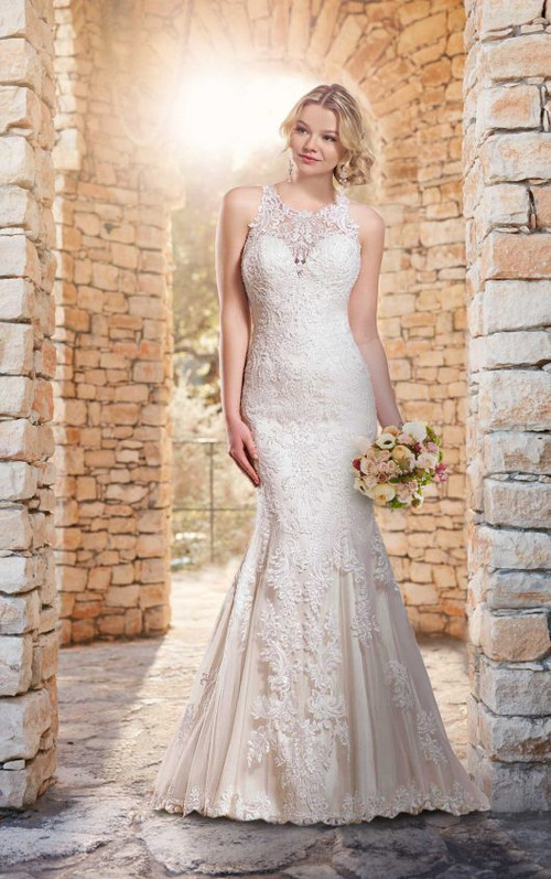 Essense of Australia Wedding Dress D2174