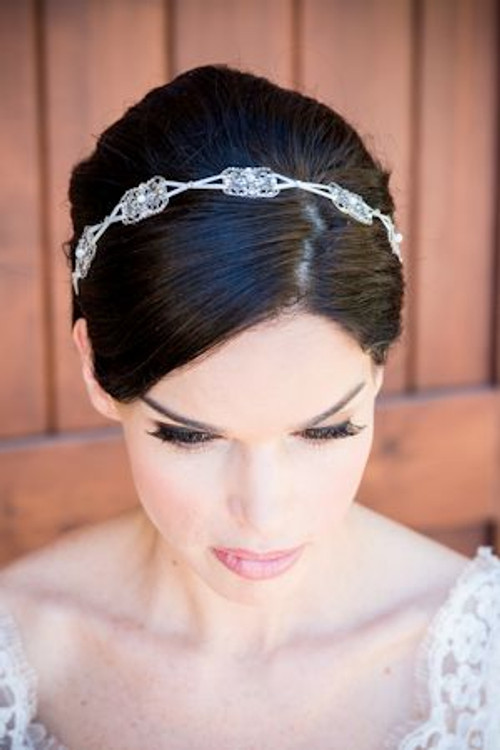 Justine M Couture Claire Headpiece