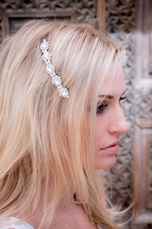 Justine M Couture Daring Headpiece Combs