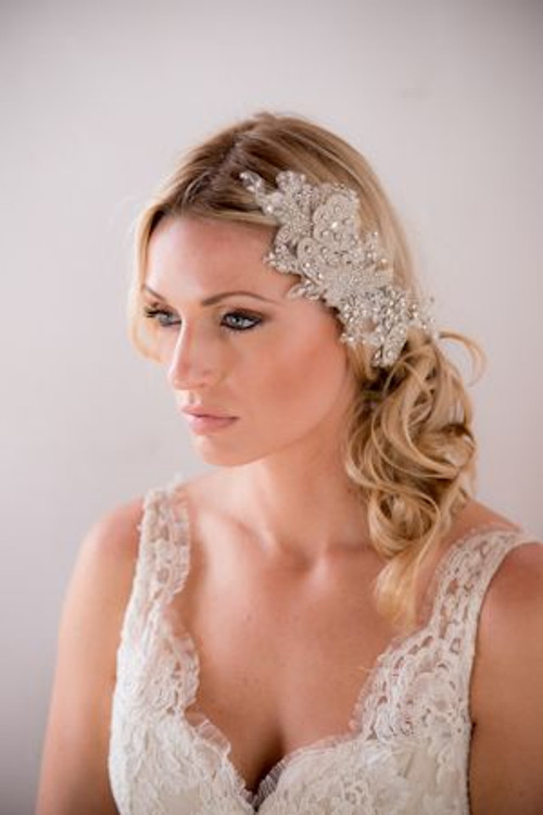 Justine M Couture Forget Me Knot Headpiece Combs