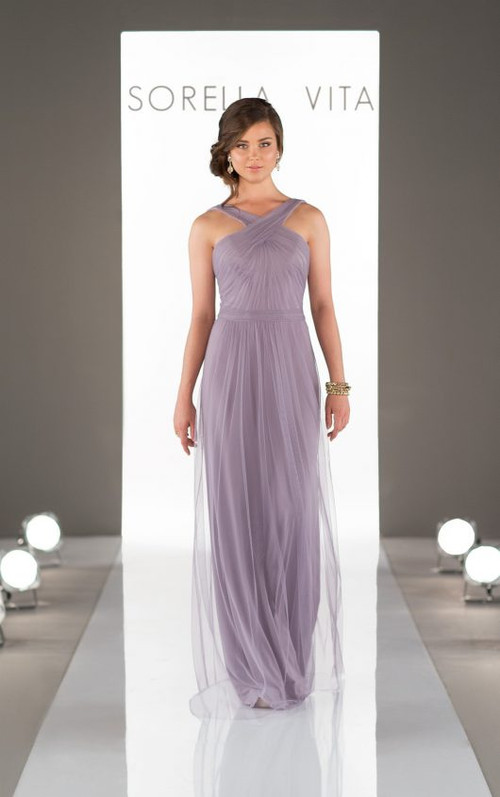 Sorella Vita Sequin Bridesmaid Dress 8828