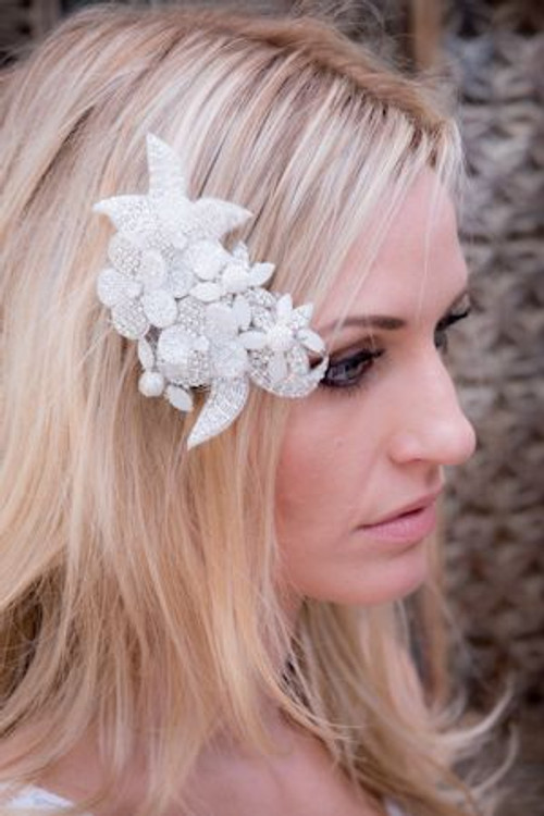Justine M Couture Snow Drop Headpiece Combs