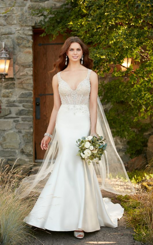 Essense of Australia Wedding Dress D2294