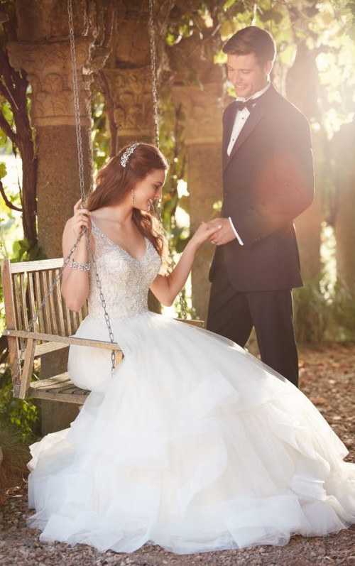Essense of Australia Wedding Dress D2259