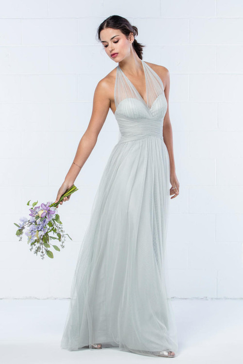 85df9abb9c9 WTOO Bridesmaids Dress 853i - Blush Bridal