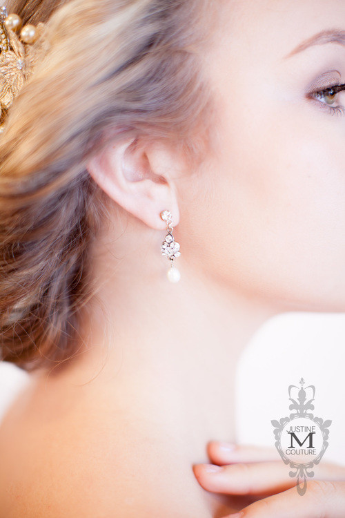 Justine M Couture Nora Earrings