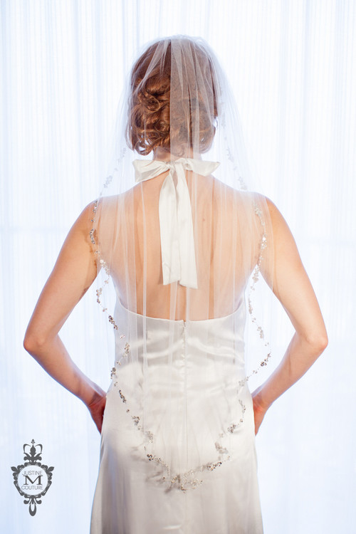 "Justine M Couture Twilight 36"" Veil"