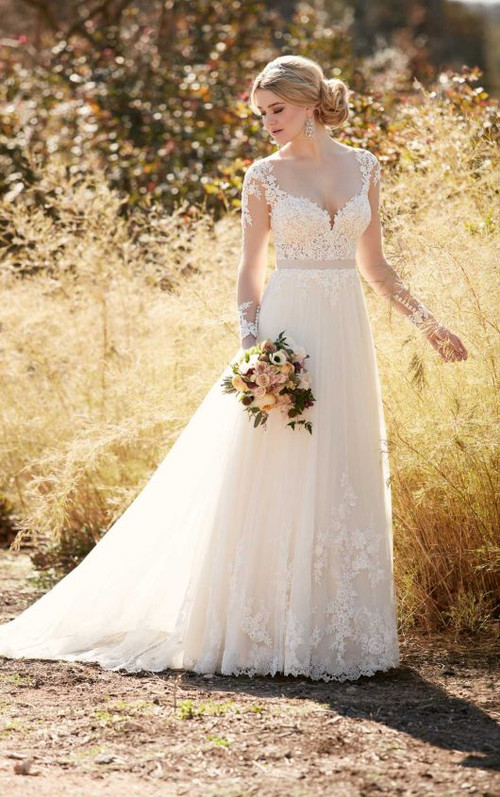 Essense of Australia Wedding Dress D2038