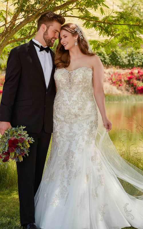 Essense of Australia Wedding Dress D2401
