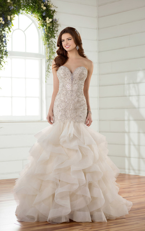 Essense of Australia Wedding Dress D2389