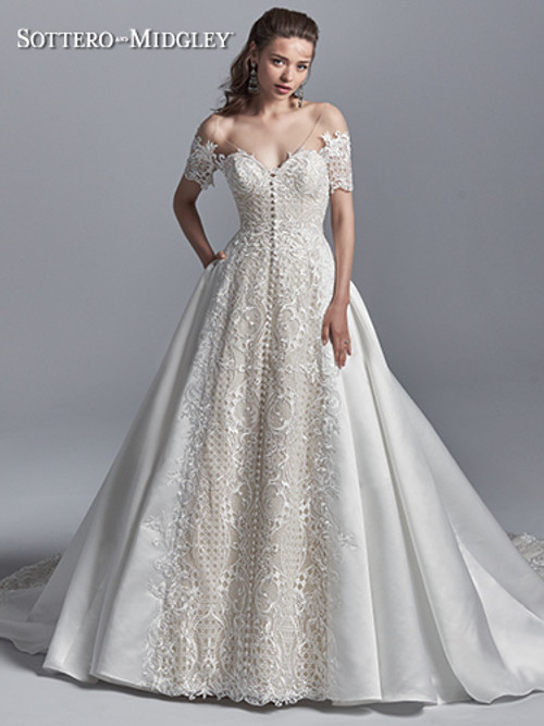 Sottero and Midgley Wedding Dress Zeta