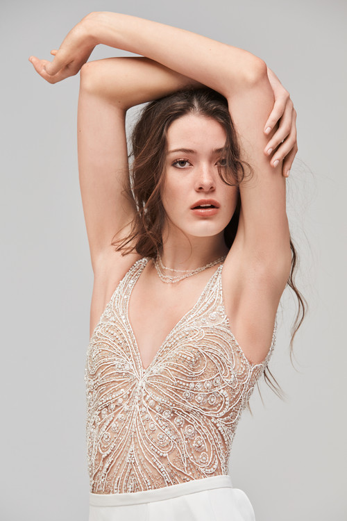 Willowby Wedding Dress Bodysuit Fladdra